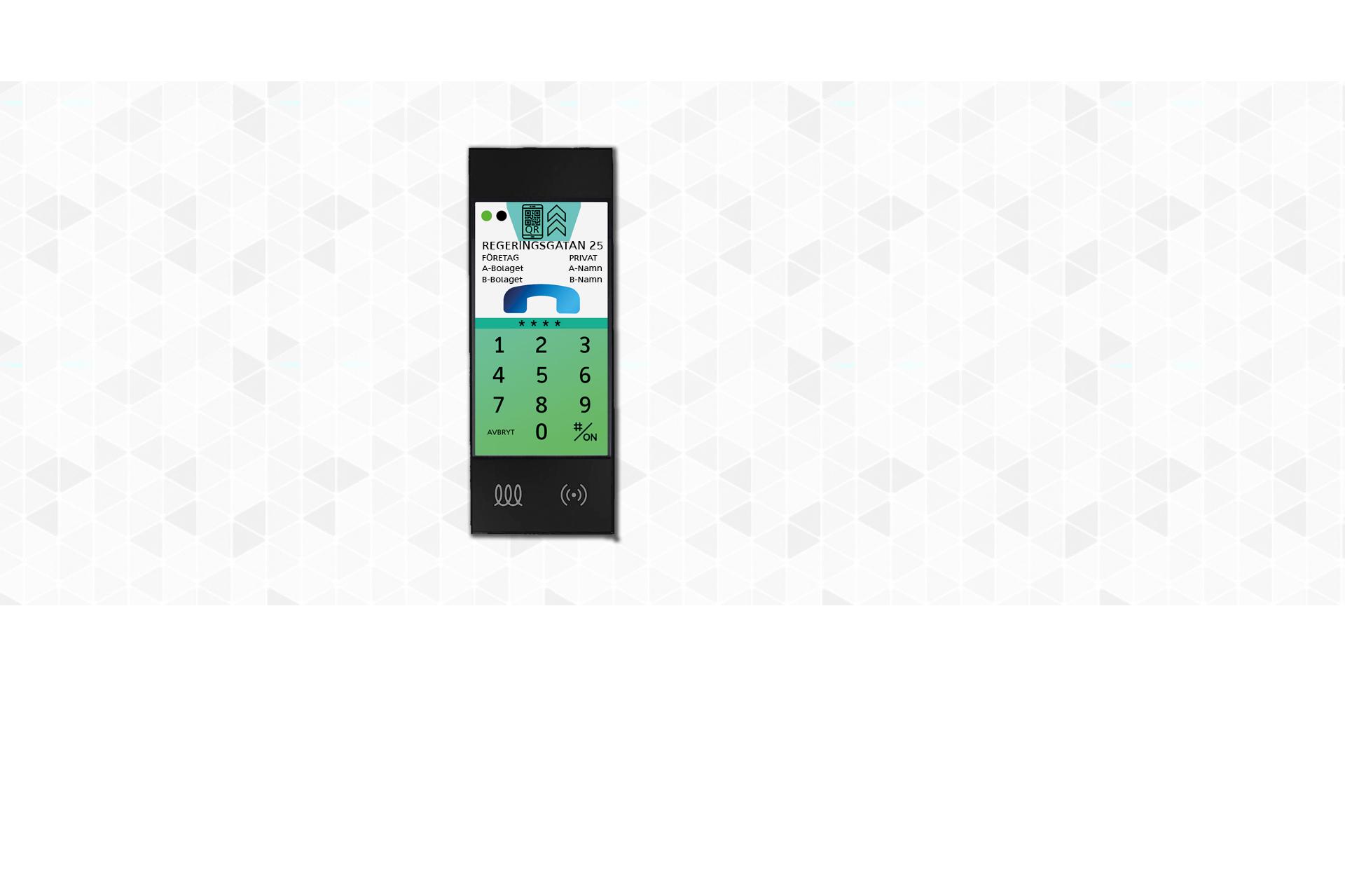 Intelligent porttelefon & passersystem